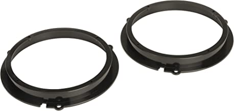 """SCOSCHE SAFD655 2008 Ford Fiesta or 2008 Ford KA 6.5"""" Front Door and Rear Side Shelf Speaker Adapter Pair"""