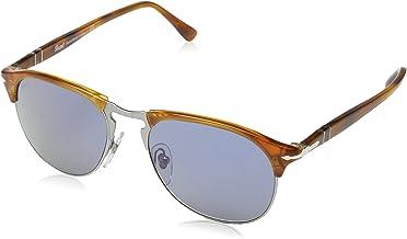 Persol Men`s Polarized Aviator Sunglasses