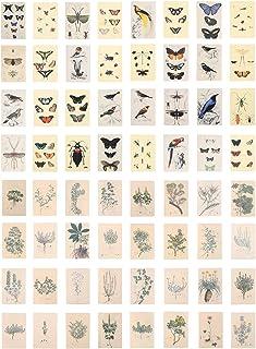 EXCEART 2 Packs Vintage Scrapbooking DIY Matériel Papier Motif Floral Mini Mémo Papier Journal Journal DIY Embellissement ...