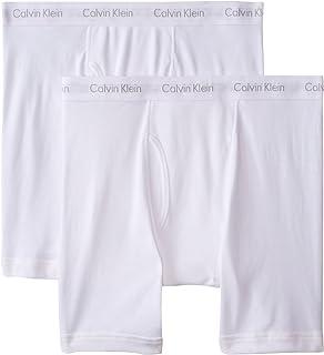 Calvin Klein Men's Big and Tall Cotton Classics 2 Pack Boxer Briefs