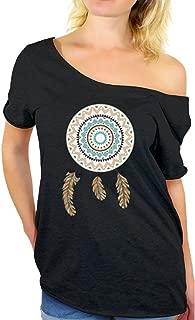 Awkward Styles Women's Dream Catcher Cool Inspiring Off The Shoulder Tops for Women T Shirts