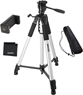 """UltraPro 72"""" Inch Heavy-Duty Aluminum Camera Tripod with Universal Smartphone Mount for iPhone, Samsung, and All Smartphon..."""