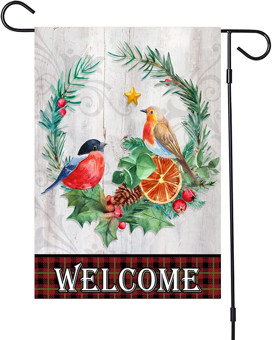 Halloween outdoor Easy-to-use flag decoration Long-awaited 12.5 double-sided 18.5 inch x