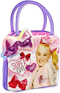 Nickelodeon JoJo Siwa Girl's Soft Lunch Box (Pink/Purple)
