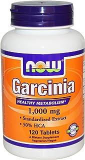 Now Food Garcinia, 1000mg, 120 Tablets