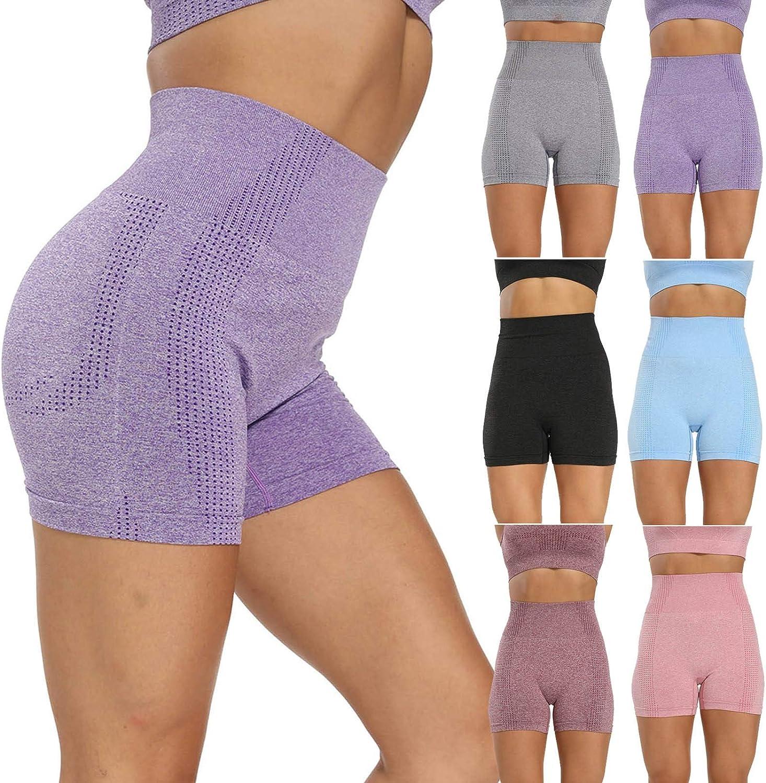 Women's High Waist Biker Shorts Workout Compression Yoga Quantity ...
