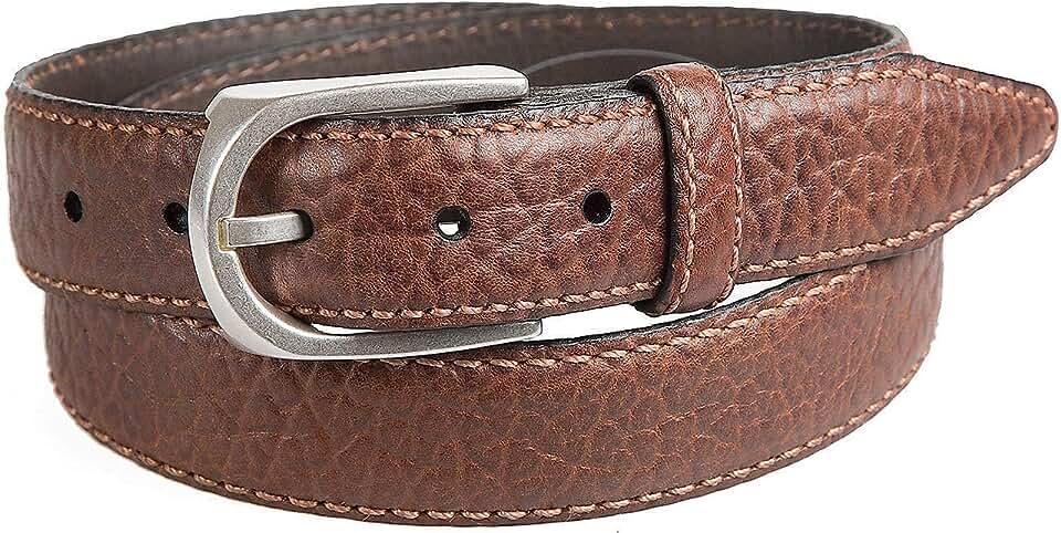 Pinnacle American Bison Leather Belt