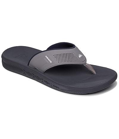Quiksilver Current Water-Friendly Sandals (Grey/Grey/Blue) Men