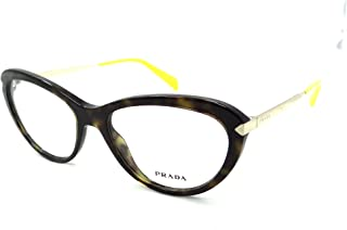 d94a213acde8 Prada Rx Eyeglasses Frames Vpr 08r 2au-1o1 54x17 Havana Tortoise Made In  Italy