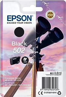 Epson Singlepack Black 502 wkłady atramentowe (oryginalne, atrament pigmentowy, czarny, Epson, 1 sztuka)