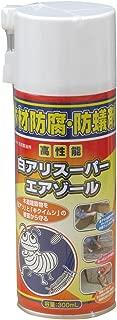 吉田製油所木材防腐・駆除防蟻剤 白アリスーパーエアゾール 300mL 透明