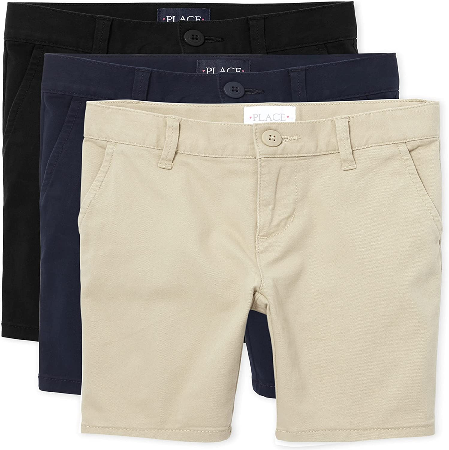 Branded goods The Children's Place Girls' Shorts Max 43% OFF Chino