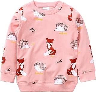 Unisex Kids Cute Cartoon Cotton Sweater Shirt