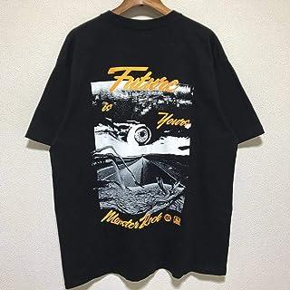 古着 reversal/リバーサル/MONSTER ROCK×rvddw/SPACE SHOWER TV/DECADE AND NEW ERA Tシャツ/半袖/ブラック/特寸/XL