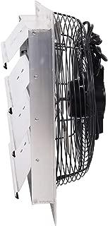Fanpac S163 Wall-Mounted 3 Speed Shutter Exhaust Fan, 16