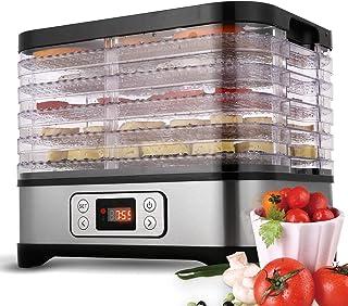 Tooluck 5 plateaux 250W déshydrateur alimentaire Machine professionnelle électrique déshydrateur alimentaire pour viande o...