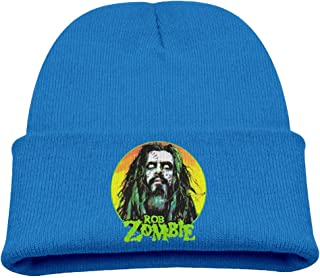 Kids Rob Zombie RoyalBlue Knitted Hat Beanies Cap