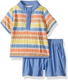 Masala Baby Baby Boys Ollie 2pc Set Bold Stripe