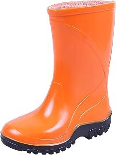 Botas de agua para niños, color naranja KOLMAX