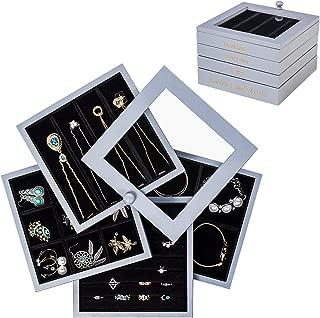 wood jewelry storage