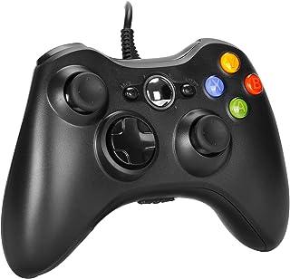 AlBetter Xbox 360 Controller, PC Controller for Microsoft Xbox360 / Xbox 360 Slim/Windows Vista/7/8/8.1/10, USB Wired Joys...
