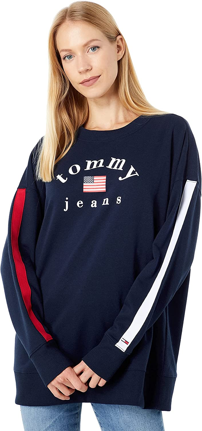 Tommy Jeans Logo Long Pullover