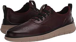 CH Cordovan Leather/Perf/Cobblestone