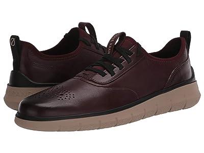 Cole Haan Generation Zerogrand (CH Cordovan Leather/Perf/Cobblestone) Men