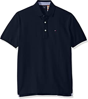 Men's Adaptive Polo Shirt with Magnetic Buttons Classic Fit