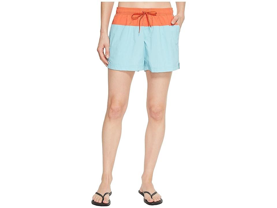 Columbia Sandy Rivertm Color Blocked Shorts (Iceberg/Zing/Tuscan) Women