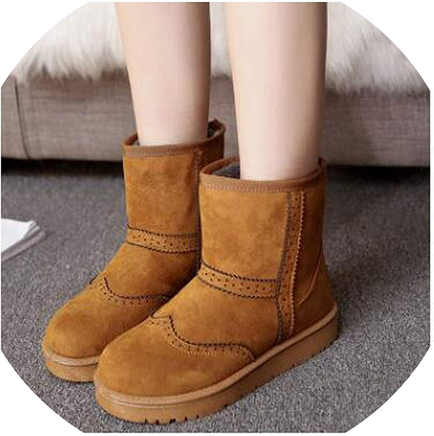 Fashion Female Snow Boots Winter Warm Fur Ankle Boots Snow Boots Women Winter shoes