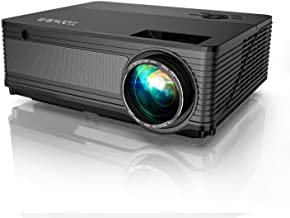 $198 » YABER Y21 Native 1920 x 1080P Projector 6800 Lux Upgrad Full HD Video Projector, ±50° 4D Keystone Correction Support 4k&Zo...