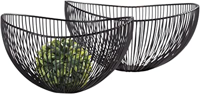 Torre & Tagus 902206 Pod Wire Bowls, Set of 2