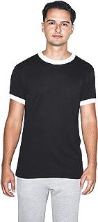 Men's 50/50 Crewneck Short Sleeve Ringer T-Shirt