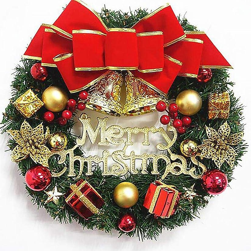 パンサーいろいろ地域のクリスマスリース クリスマス リース 玄関飾り 天然素材使用 インテリア 30CM クリスマス 飾りクリスマス花輪 造花 壁掛けフラワー ぶら下げ飾り ドアリース 飾り 庭園 結婚式 店舗 撮影 道具