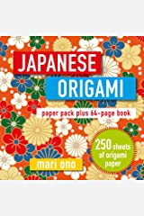 Japanese Origami: Paper pack plus 64-page book Paperback