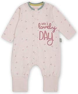Sigikid Baby-Mädchen Classic Bio-Baumwolle für Kinder Overall mit Klappbündchen
