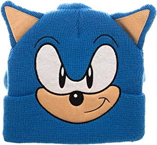 Bioworld Sonic The Hedgehog 3D Collectors Edition Costume Beanie Blue