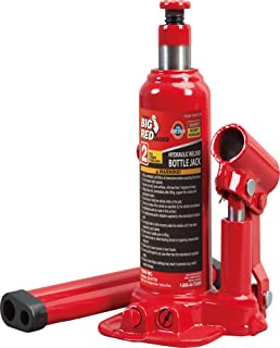 Torin Big Red Hydraulic Bottle Jack, 2 Ton (4,000 lb) Capacity