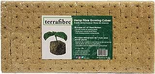 Hemp Fibre Growing Cubes (98, 1.5) 98 Pack of 1.5