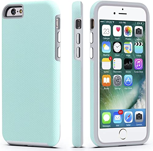 CellEver iPhone 6 / 6s Case, Dual Guard Protective Shock-Absorbing Scratch-Resistant Rugged Drop Protection Cover for...