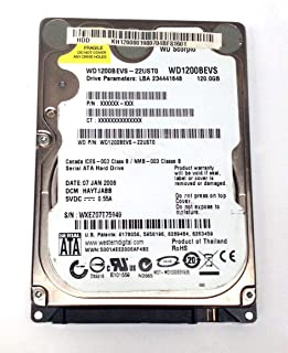 Hd Sata Notebook Wd 120gb Scorpio Wd1200bevs #1169