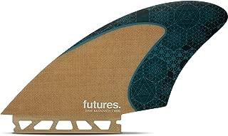 Futures Fins - VF Rasta HC KEEL - Jute/Teal