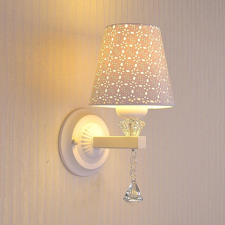 GYR Bedroom LED Crystal Wall Light Simple Modern Warm Wall Lamp Aisle Living Room Balcony Staircase Hotel Lights,A