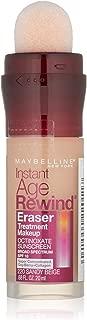 Maybelline New York Instant Age Rewind Eraser Treatment Makeup, Sandy Beige, 0.68 fl. oz.