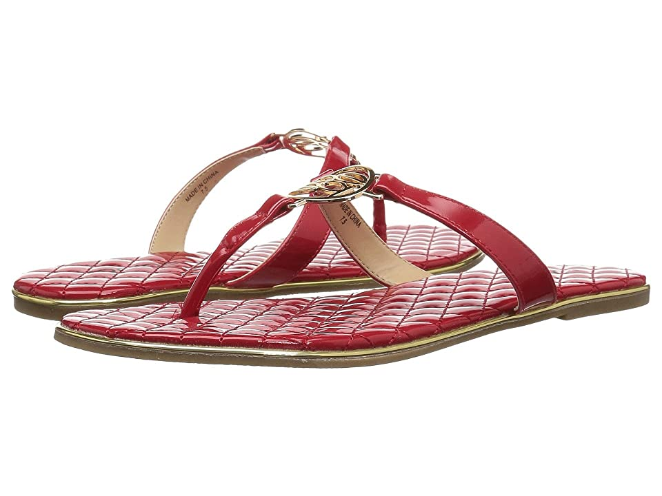 Bebe Parris (Red Patent) Women