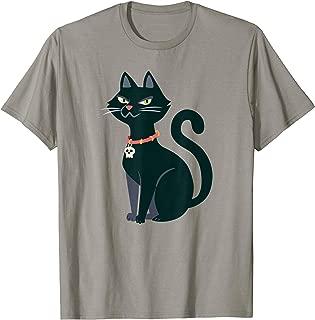 Halloween cat black autumn fall graphic shirt