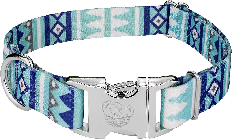 Country Brook Design - Premium 5 popular Collection Christmas Collar Sale Dog