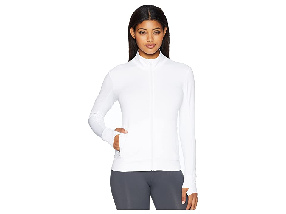 Lole Essential Up Cardigan (White) Women