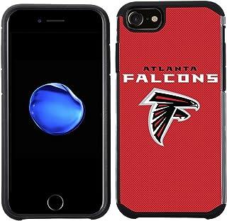 Prime Brands Group 手机壳适用于 Apple iPhone 8/ iPhone 7/ iPhone 6S/ iPhone 6 - NFL *亚特兰大猎鹰纹理纯色